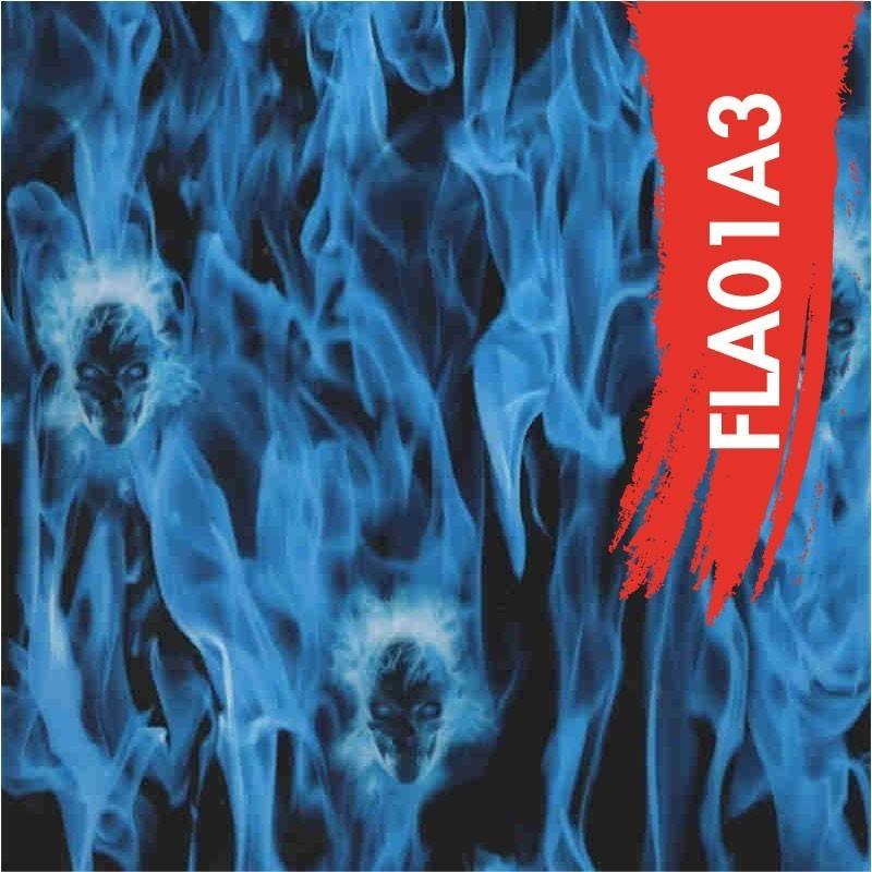 Film Hydrographique bleue