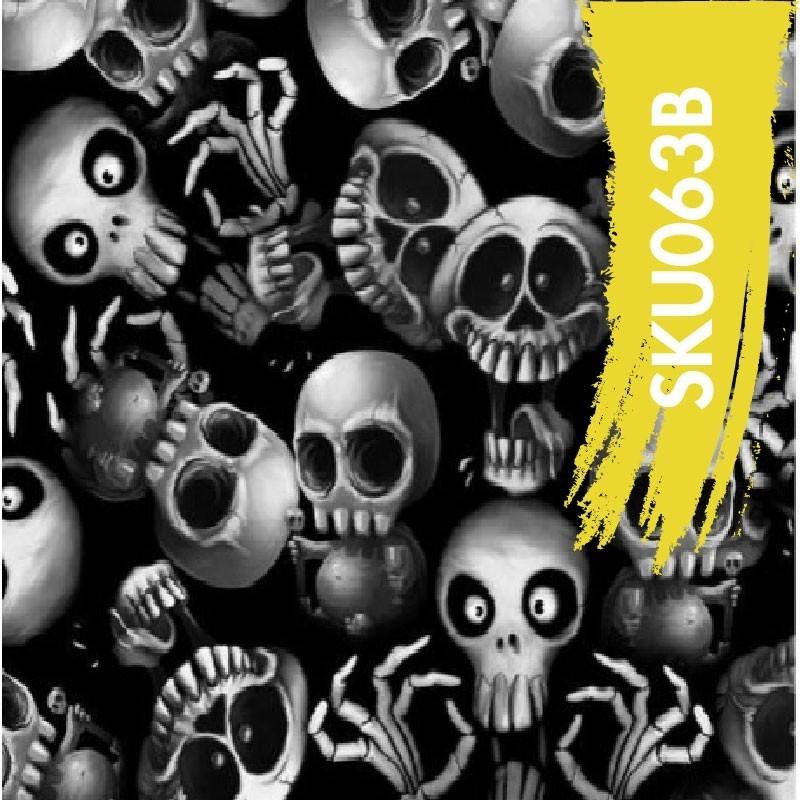 Film Hydrographique Skull