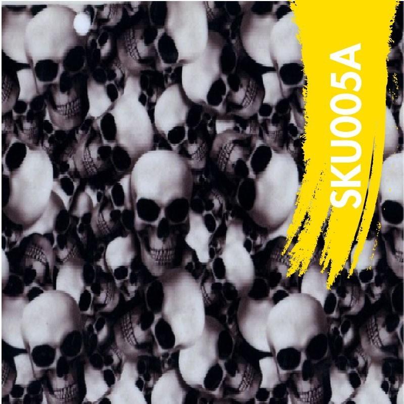 Film Hydrodipping Skull