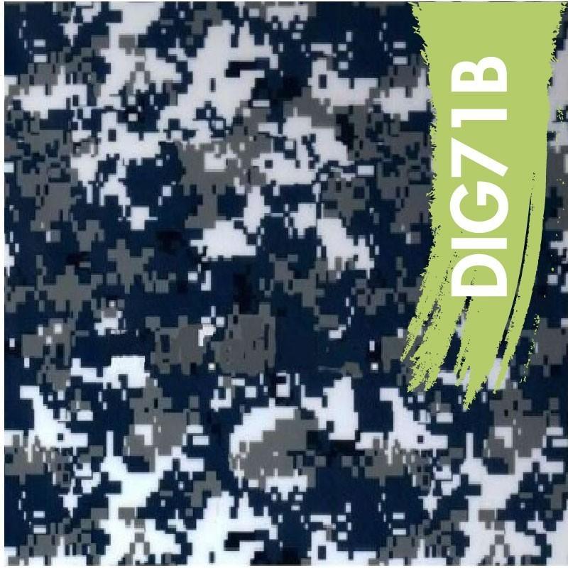 Camo Digital Navy