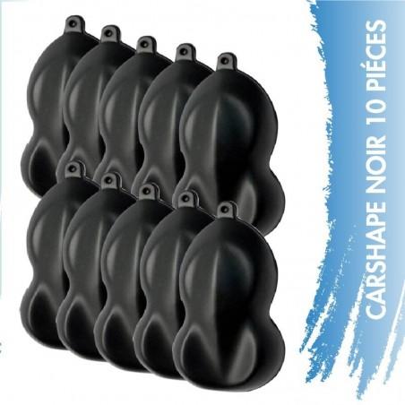 Carshape Noir 10 pièces